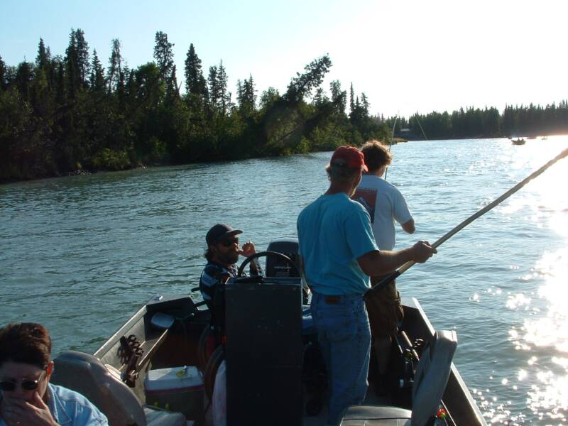 Flanders fishing kenai river for Kings river fishing